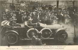 STRASBOURG ENTREE SOLENNELLE DU MARECHAL PETAIN 11/1918 - Guerra 1914-18