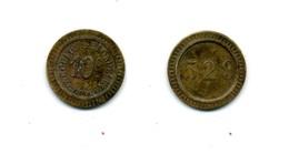 Jeton De Nécessité De 0,10 Cts / Acoulon & Blondelet (n° 529) - Monétaires / De Nécessité