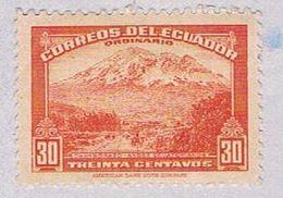Ecuador 407B MLH Mt Chimborazo 1942 (BP3065) - Ecuador