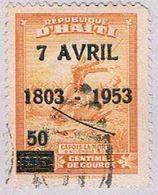 Haiti C35 Used Colonel Capois 1953 (BP35729) - Haiti