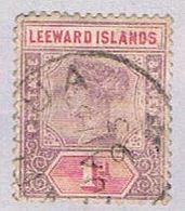 Leeward Islands 21 Used Queen Victoria 1902 (BP34533) - Unclassified