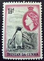 Tristan Da Cunha 1953 Animal Oiseau Bird Manchot Pingouin Yvert 16 ** MNH - Tristan Da Cunha