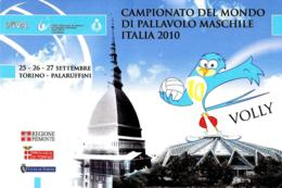 [MD3671] CPM - CAMPIONATO DEL MONDO DI PALLAVOLO MASCHILE ITALIA 2010 - TORINO - VOLLEY VOLLY - PERFETTA - Non Viaggiata - Volleyball