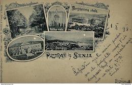 Senj 1898. Circulated - Croatia - Croatia