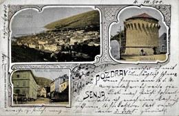 Senj 1900. Circulated - Croatia - Litho - Croatia