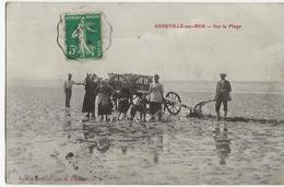 ANNEVILLE Sur MER  -  Sur La Plage - France