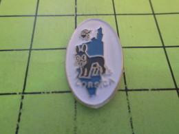 313e Pins Pin's / Rare & Belle Qualité THEME ANIMAUX / ANE DE CORSE Attention Tu Vas Finir En Saucisson Pour Touriste ! - Animals