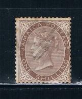 Jamaica 12 Used Queen Victoria CV 9.50 (J0006) - Jamaica (...-1961)