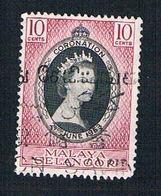 Malaya Selangor 101 Used Coronation Issue (BP22214) - Selangor
