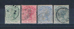 Trinidad 68-71 Used Queen Victoria 1883 CV 3.50 (T0126) - Trinidad & Tobago (...-1961)