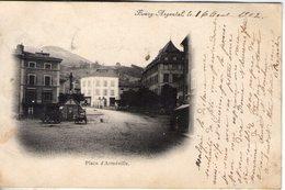 42. Bourg Argental. Place D'armeville - Bourg Argental