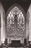 AM35 RPPC - Unidentified Church/Cathedral Stained Glass Window - Churches & Convents