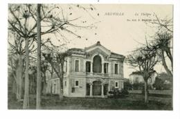 Neuville - Le Théatre - Pas Circulé, Précurseur - Neuville Sur Saone