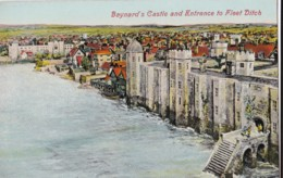 AM36 Baynard's Castle And Entrance To Fleet Ditch, London - River Thames