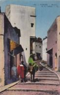 AM36 Tanger, Montee De La Casbah - LL, Animated, Donkey/mule - Tanger