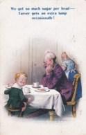 AM36 Bamforth Comic By D. Tempest - WW1, Sugar Rationing - Humor