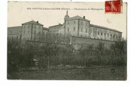 Neuville Sur Saône - Pensionnat De Bellegarde - Circulé 1907 - Neuville Sur Saone