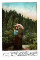CPA - Carte Postale-Belgique -Un Couple : Promenade Sentimentale 1907-VM4661 - Couples