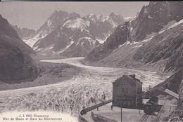 74----CHAMONIX---mer De Glace Et Gare Du Montenvers--voir 2 Scans - Chamonix-Mont-Blanc