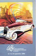 AUTOMOBILE : 48 HEURES D4AUTOMOBILES ANCIENNES DE TROYES   ANNEE  2006 - Cartes Postales