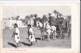 AO07 Voiture Du Caire Avec Sais - Early UB - Cairo