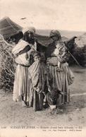 NOMADES DEVANT LEURS GITOUNES- VIAGGIATA-1913 - Tunisia