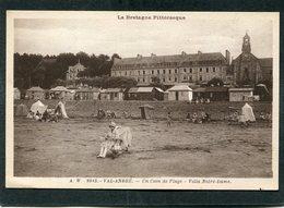CPA - VAL ANDRE - Un Coin De Plage - Villa Notre Dame, Animé - Pléneuf-Val-André