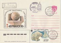 SOVIET UNION 1987 Envelope With WWF Stamp. - W.W.F.