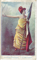 Carte Postale De 1905 Le Chant Patriotique La Marseillaise Collect Du Petit Parisien VOIR DOS Tampon De Gien Et Coullons - Patriotiques