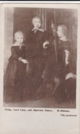 AR40 People - Philip, Lord Lisle And Algernon Sidney As Children - Historical Famous People