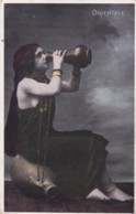 AR40 Ethnic - Egyptian Lady Drinking From A Flask - Orientale - Africa
