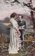AR40 Romance - Couple In A Garden - Blossom - Couples