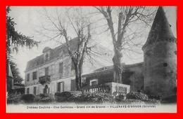 CPA (33) VILLENAVE-D'ORNON.  Château Couhins, Clos Cantebau, Grand Vin De Graves...J131 - France