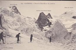 74----CHAMONIX--route Du Mont-blanc --la Jonction--voir 2 Scans - Chamonix-Mont-Blanc