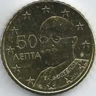 Griekenland    2019  50 Cent    UNC Uit De BU  UNC Du Coffret !! 10.000 Ex !!! Zeldzaam - Extrème Rare !!! - Grèce