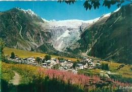 Cpsm   -   Village Et Glacier Du Tour               V1102a - Autres Communes