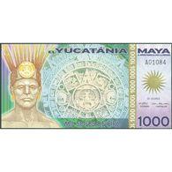 TWN - YUCATANIA (private Issue) - 1000 1.000 Soles De Oro 21.12.2012 Polymer UNC - Non Classificati