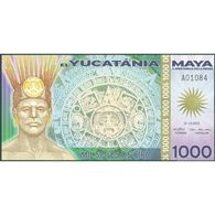 TWN - YUCATANIA (private Issue) - 1000 1.000 Soles De Oro 21.12.2012 Polymer UNC - Banknotes