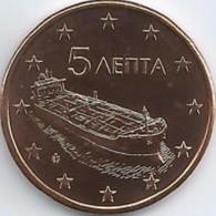 Griekenland    2019  5 Cent    UNC Uit De BU  UNC Du Coffret !! 10.000 Ex !!! Zeldzaam - Extrème Rare !!! - Grèce