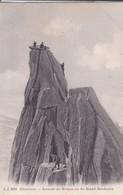 74----CHAMONIX--sommet Du Grépon Vu Du Grand Gendarme--voir 2 Scans - Chamonix-Mont-Blanc
