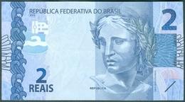 BRAZIL CURRENCY - R$2,00   (2 REAIS)  - TURTLE  -  2010 - Brazil