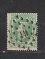 COB 30 Oblitération à Points 19 ATH +2 - 1869-1883 Leopold II.