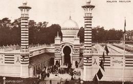MALAYA PAVILION-1924-NON  VIAGGIATA - Malesia