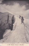 74----CHAMONIX---caravane Au Mont-blanc--voir 2 Scans - Chamonix-Mont-Blanc