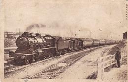 CALAIS - PAS DE CALAIS - (62) - CPA 1933. - Trains