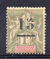 MADAGASCAR - YT N° 50 - Neuf * - MH - Cote: 12,50 € - Madagascar (1889-1960)