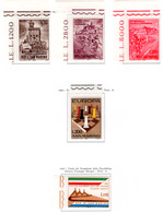 1965 - SAINT-MARIN - SAN MARINO - Catg. Unif. 687/689+699+704 - NH - (SM2017.10...) - San Marino