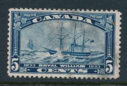 CANADA, 1933 WELL-CENTERED And FINE  Ship - Gebruikt