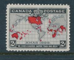 CANADA, 1898 WELL-CENTERED And FINE  2c Lavender, SG166, Cat £7 - 1851-1902 Regering Van Victoria