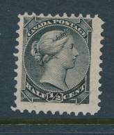 CANADA, 1882 ½c Black Unused No Gum, Cat £22 - 1851-1902 Regering Van Victoria